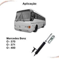 Amortecedor Mola Gás Banco/tampa Motor Mercedes Ônibus O-370