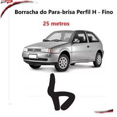 Borracha Do Para-brisa Perfil H Fino Gol Parati 95 A 98 Rolo
