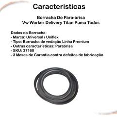 Borracha Do Para-brisa Vw Worker Delivery Titan Puma Todos