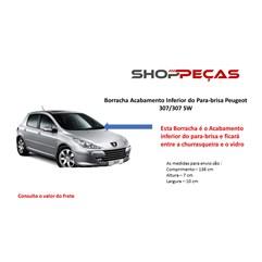 Borrachas Do Para-brisa Inf Pvc Peugeot 307/sw 02 A 11