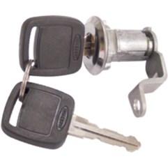 Cilindro Da Porta Esquerda Caminhões Série F