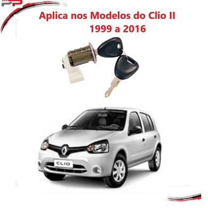 Cilindro Porta Esquerda Clio 2 1999 a 2016 2 e 4 portas