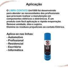 Limpa Contato Elétrico e Eletrônicos Spray 300 ml 2 Unidades