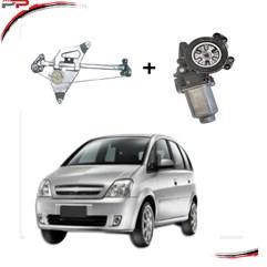 Máquina Vidro Com Motor Traseira Dir Meriva 02 A 12 Original