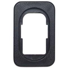 Moldura Interruptor Elétrico Vidro Preta Corsa G2 02 A 12