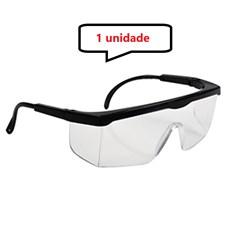 Óculos Protetor Epi Incolor Haste Com  Regulagem Com CA