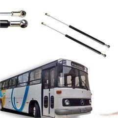 Par Amortecedores Tampa Bagageiro Mercedes Ônibus O-364-400