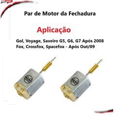 Par Motor Fechaduras Fox Ap 09 Gol-Voyage-Saveiro G5, 6, 7