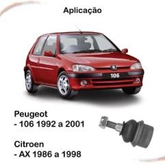 Pivô Lado Direito ou esquerdo Peugeot 106 92-01 AX 86-98