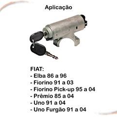 Trava de Direção Com Elétrica Completa Fiorino Uno 91 a 04